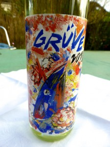 Genre Wein GrueVe 2014 Traubenforelle