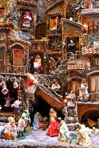 Neapel Via San Gregorio Armeno Krippe