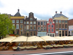 Groningen Fassaden Grote Markt