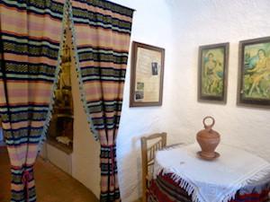 Hoehlenwohnung innen Guadix 2015-11-06 Foto Elke Backert