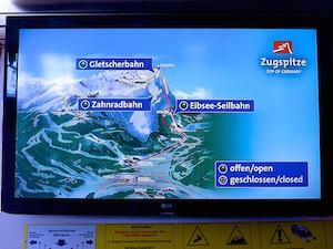 Zugspitze Zugspitzbahnen Karte