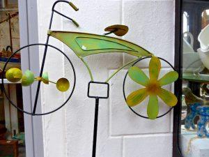 Fahrrad als Windspiel Greetsiel