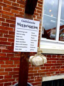 Ostfriesische Wetterstation Greetsiel
